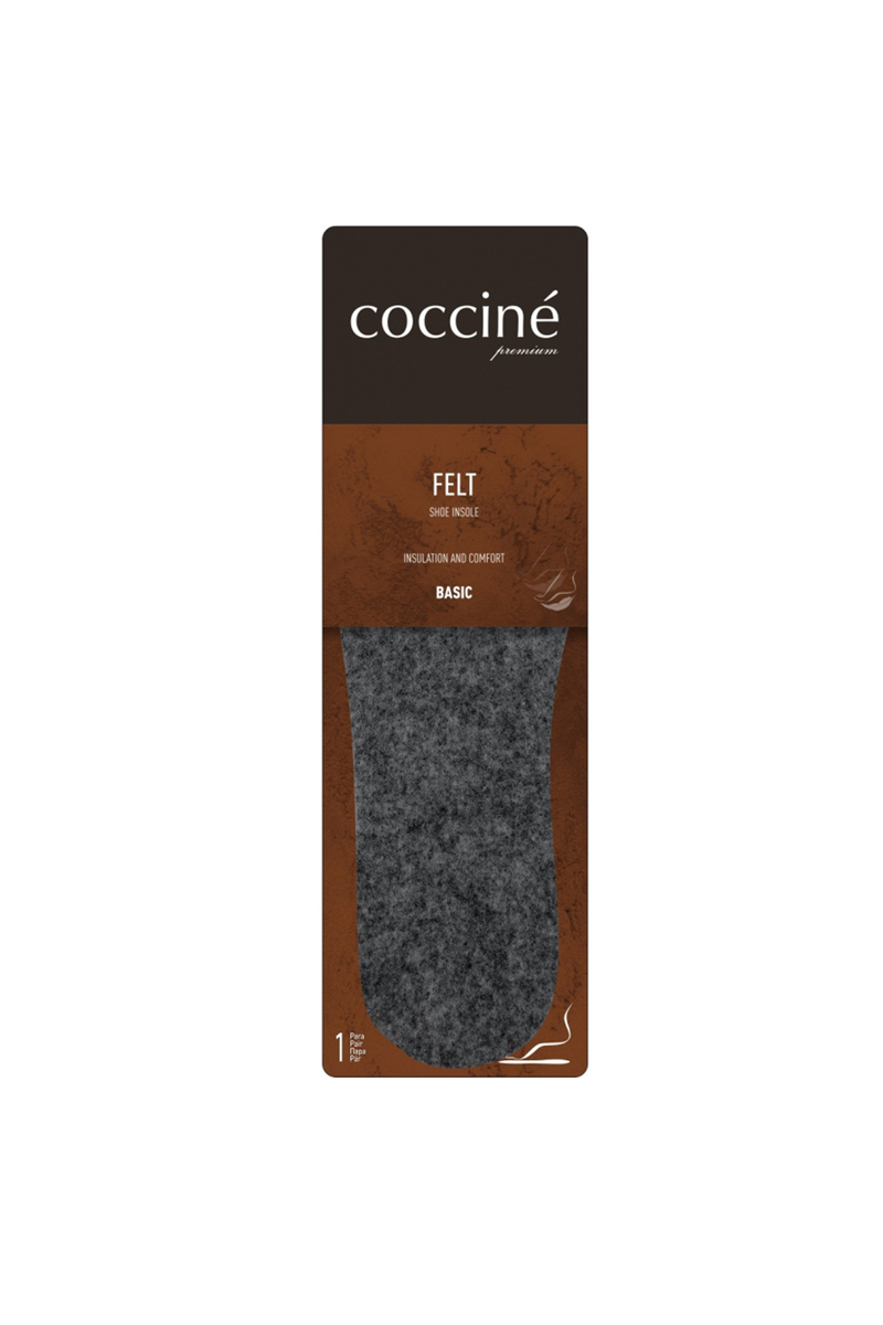 Coccine Warm Felt Thick Insoles 3mm